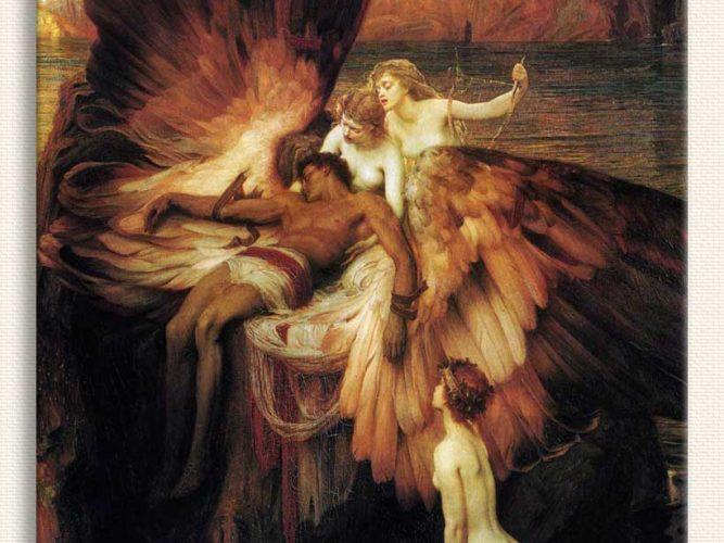 Herbert Draper Icarus'un Matemi