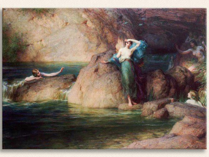 Herbert Draper Halkon tablosu