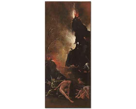 Hieronymus Bosch Ahiret Vizyonları Cehennem 04