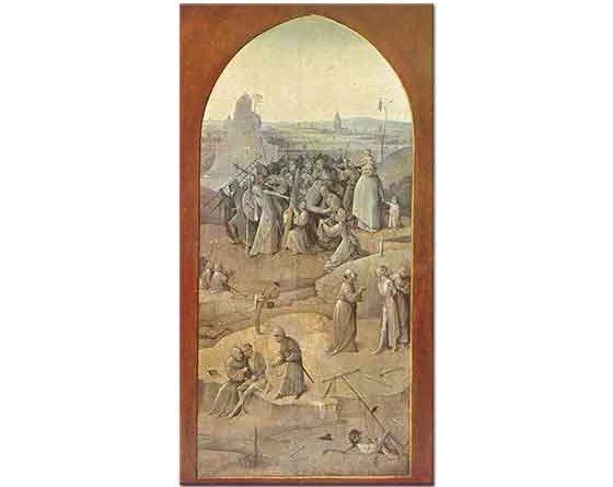 Hieronymus Bosch Haç Taşıyan Mesih
