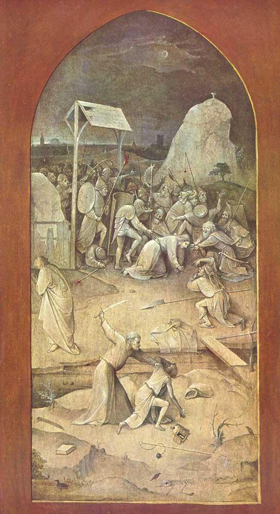 Hieronymus Bosch Gethsemane Bahçesinde Mesih'in Tutuklanması