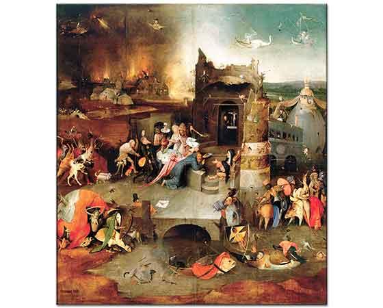 Hieronymus Bosch Aziz Anthony'nin Günaha Teşviki
