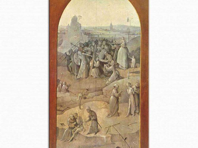 Hieronymus Bosch Aziz Antonius Çarmıha Geriliş
