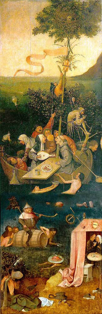 Hieronymus Bosch Deliler Gemisi