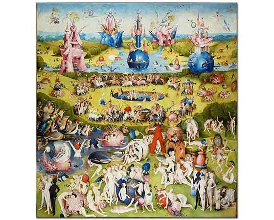 Hieronymus Bosch Dünyevi Lezzetler Bahçesi