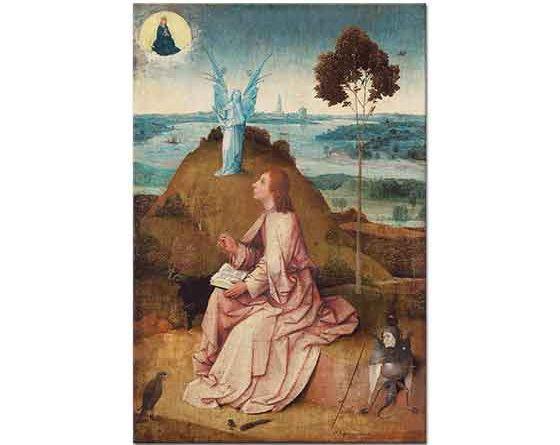 Hieronymus Bosch Aziz John Patmos'da