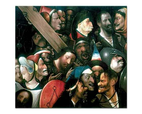 Hieronymus Bosch Mesih Haç Taşırken