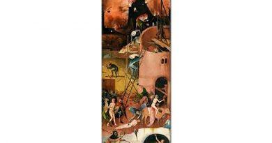 Hieronymus Bosch Samanlık Üçlüsü Cehennem