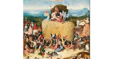 Hieronymus Bosch Samanlık Üçlüsü