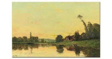 Hippolyte Camille Delpy Nehirde Çamaşırcı Kadınlar