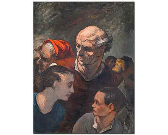 Honore Daumier Aile