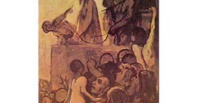 Honore Daumier Ecce Homo