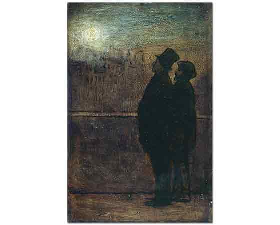 Honore Daumier Gece Yürüyenler