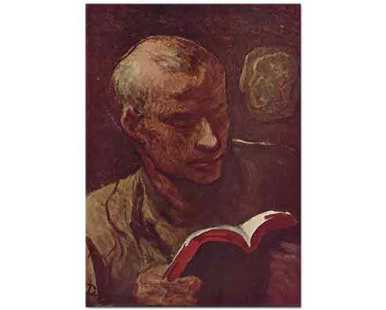 Honore Daumier Okuyucu