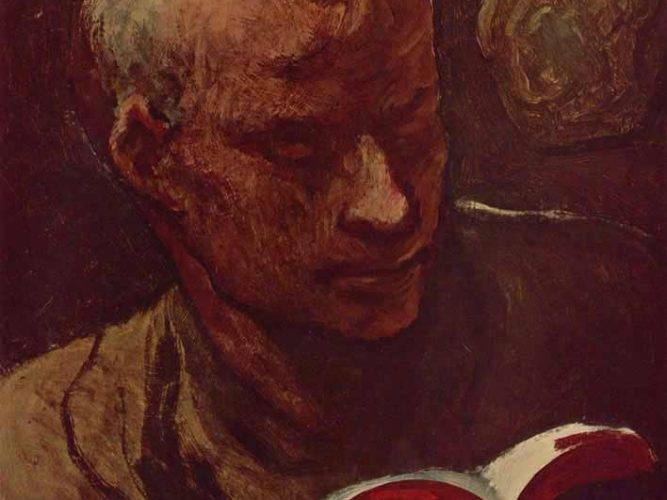 Honore Daumier Okuyucu tablosu