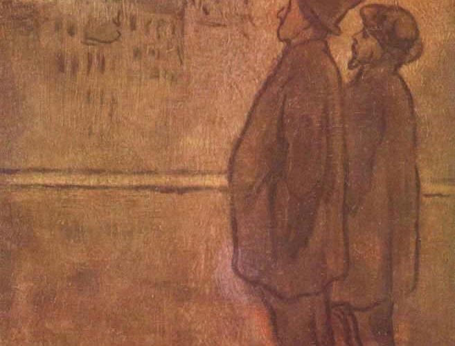 Honore Daumier Gece ışığı tablosu