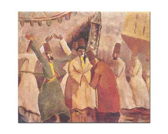 Ibrahim Çallı Mevleviler