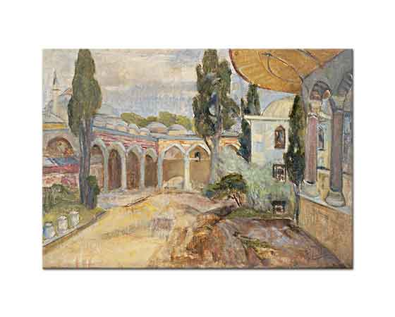 Ibrahim Çallı Topkapı Sarayı