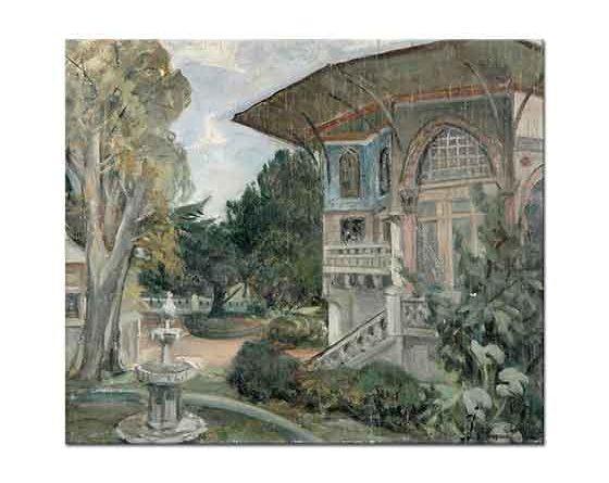 Ibrahim Çallı Topkapı Sarayından