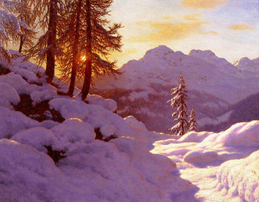 Ivan Fedorovich Choultse Kar Manzarası