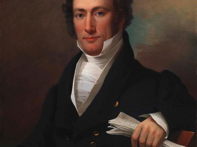 Jacob Eichholtz Joshua Tevis portresi