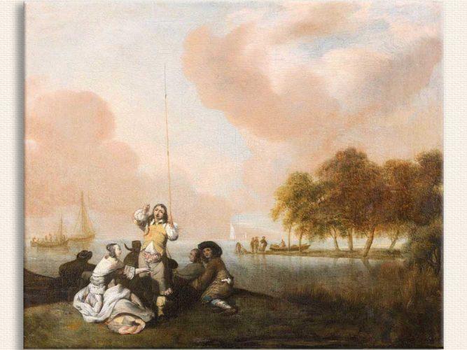 Jacob Esselens Deniz Kıyısında