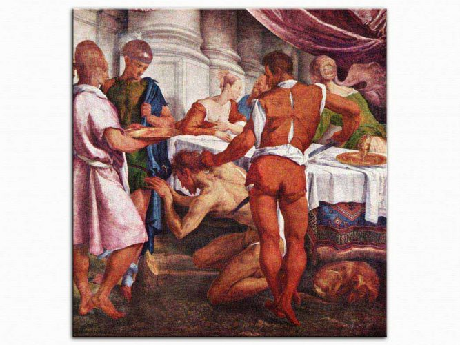 Jacopo da Ponte Bassano Aziz John'un infazı