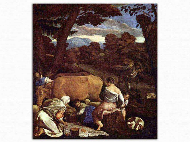 Jacopo da Ponte Bassano Çiftlik Yaşamı