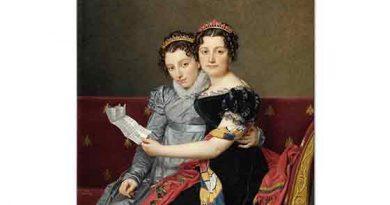 Jacque Louis David Charlotte ve Zenaide Bonaparte
