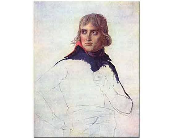 Jacque Louis David General Bonaparte'nin Portresi