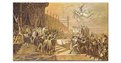 Jacque Louis David Gücün Paylaşımı
