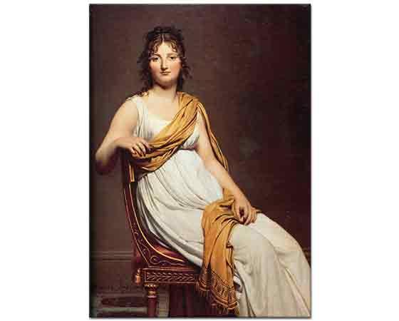 Jacque Louis David Henriette de Verninac'nın Portresi