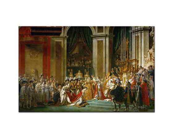 Jacque Louis David Imparatoriçe Josephine'nin Taç Giymesi