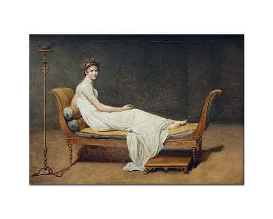Jacque Louis David Madam Recamier
