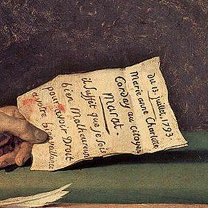 Jacque Louis David Marat'ın ölümü