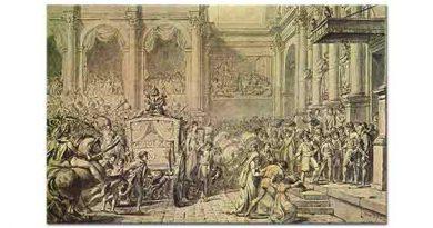 Jacque Louis David Napolyon Hükümet Konağına Varırken