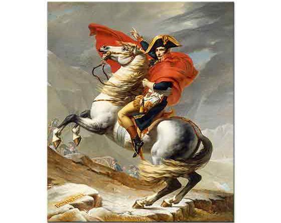Jacque Louis David Napolyon St Bernard Geçidinde