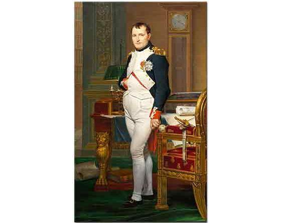 Jacque Louis David Napolyon'un Çalışma Odası