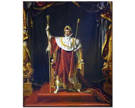 Jacque Louis David Napolyon'un Portresi