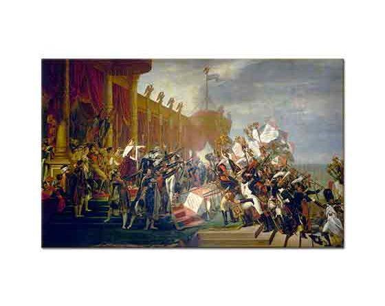 Jacque Louis David Ordunun Imparator üzerine Yürüyüşü