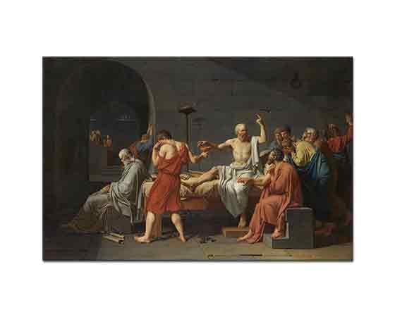 Jacque Louis David Sokrat'ın ölümü