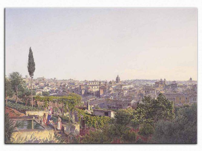 Jakob Alt Roma'ya Bakış
