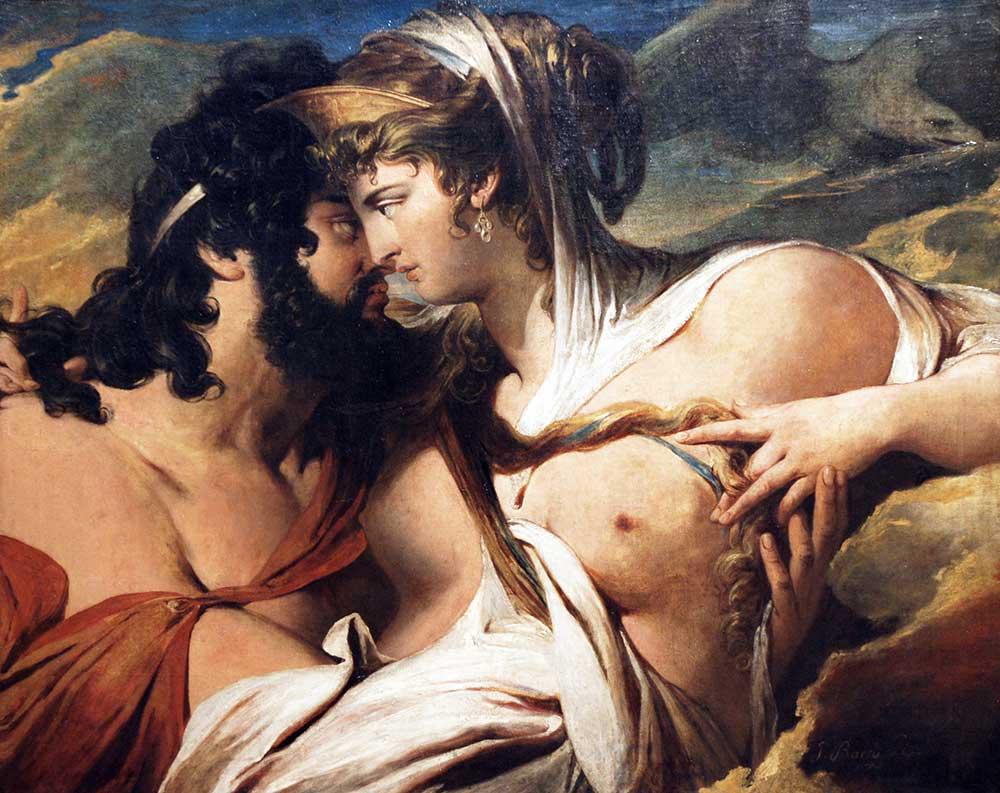 James Barry Jüpiter ve Juno Ida Dağında