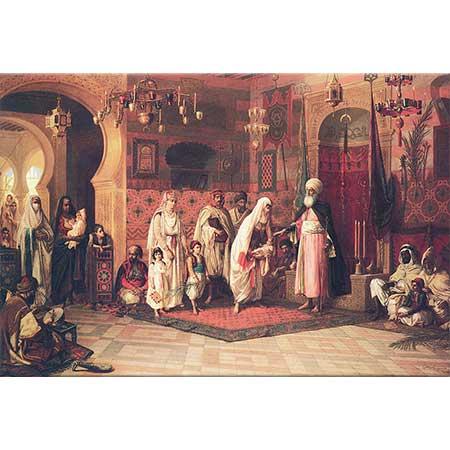 Jan Baptist Huysmans Dergahta Çocuğa Dua