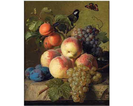 Jan Frans van Dael Meyveli Natürmort