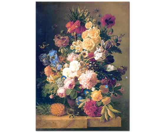 Jan Frans van Dael Vazoda Çiçek Buketi