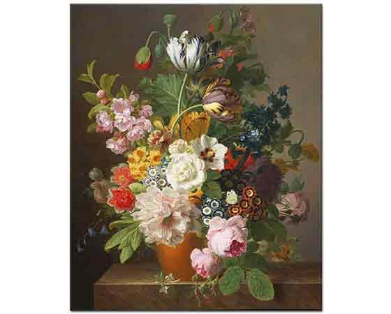 Jan Frans van Dael Vazoda Çiçekler