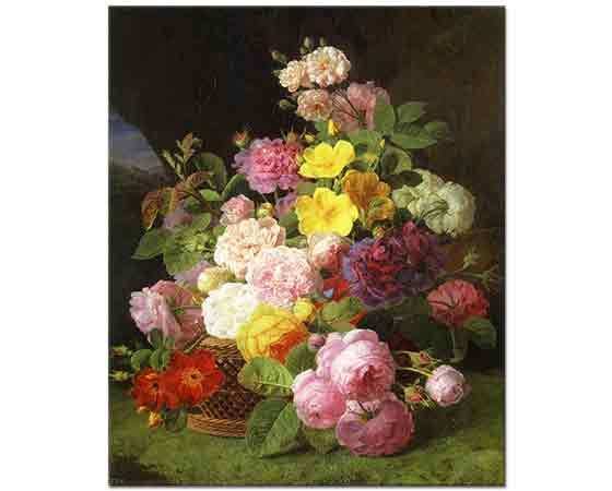 Jan Frans van Dael Vazoda Güller ve Çiçekler