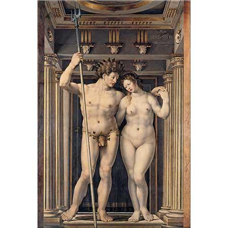 Jan Gossaert Neptune ve Amphitrite