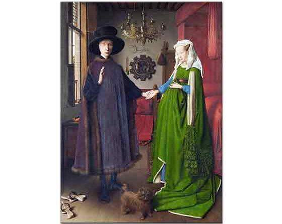 Jan van Eyck Arnolfini'nin Düğünü